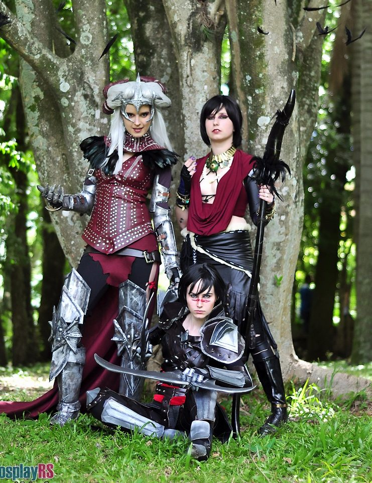 [PHOTOSHOOT][DRAGON AGE] Hawke, Morrigan & Flemmeth