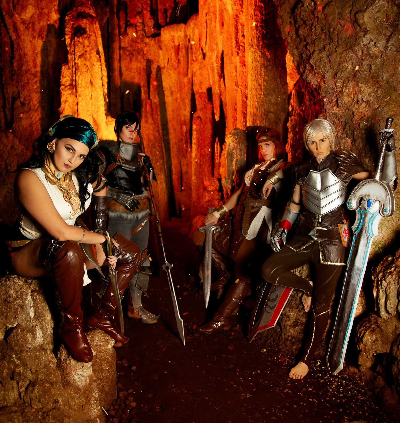 [PHOTOSHOOT][DRAGON AGE] Dragon Age II party