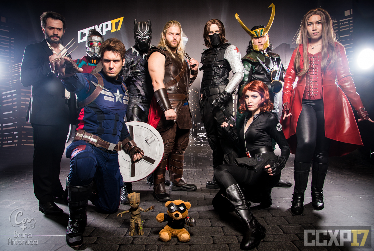 [PHOTOSHOOT][MARVEL] Marvel Group