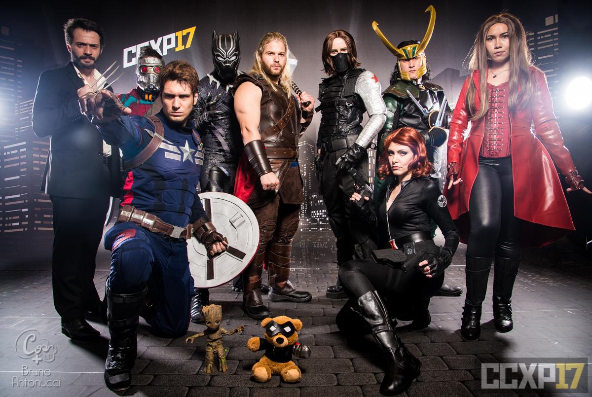 [PHOTOSHOOT][MARVEL] Marvel Group