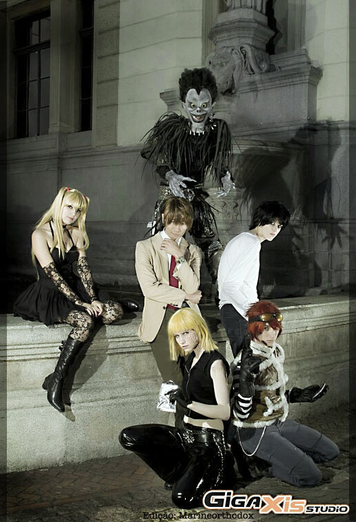 [PHOTOSHOOT][DEATH NOTE] Death note Group