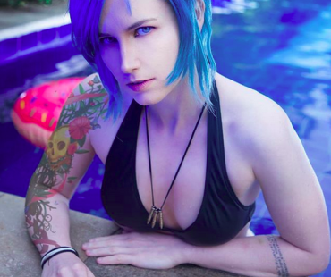 [COSPLAY][Life is Strange] Chloe Price – Pool party