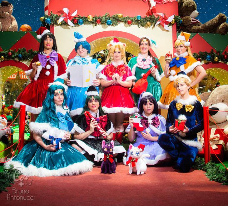 [PHOTOSHOOT][Sailor moon] Xmas sailors