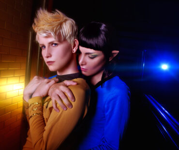 [PHOTOSHOOT][STAR TREK] Spirk Genderbend